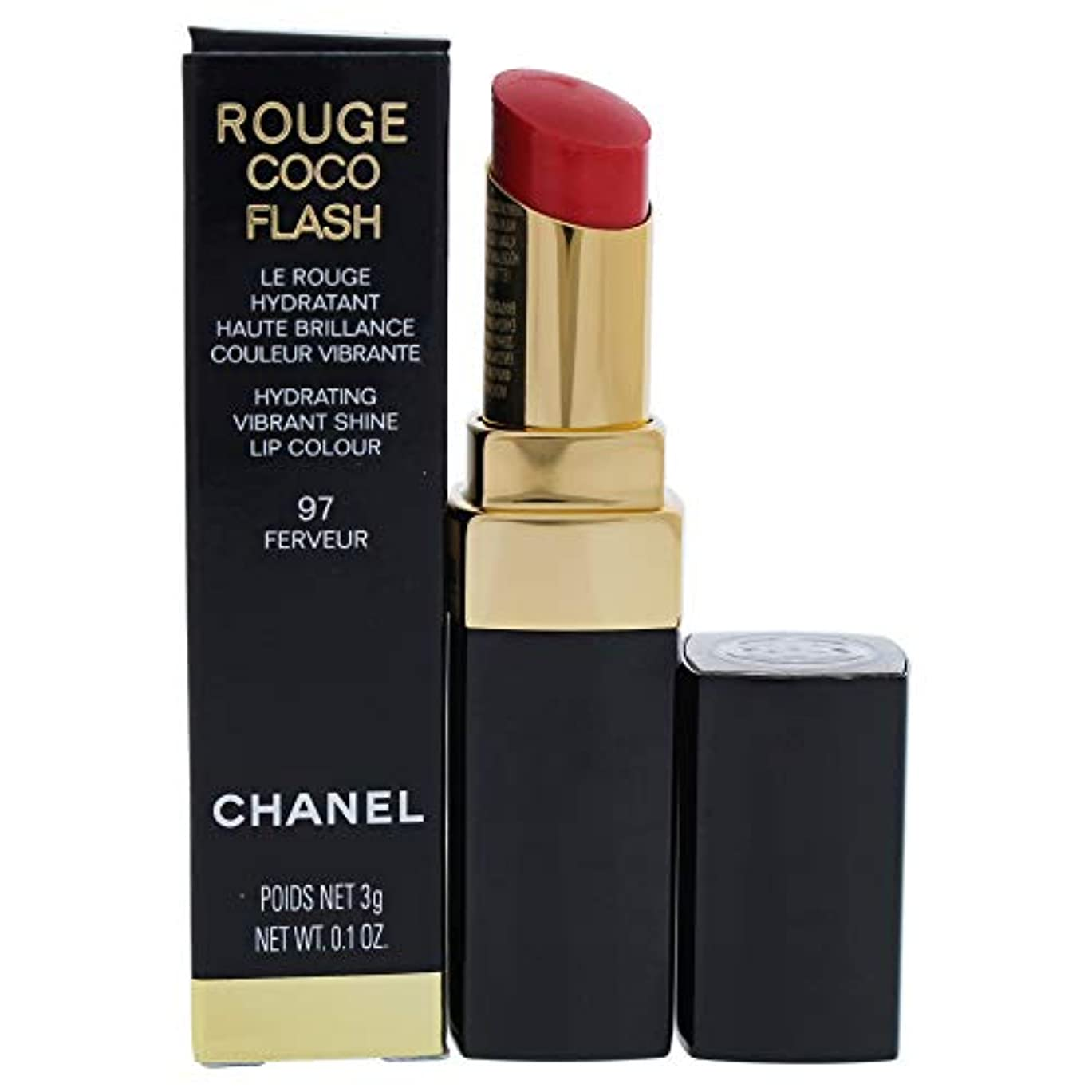 圧縮する半球時Rouge Coco Flash Lipstick - 97 Ferveur