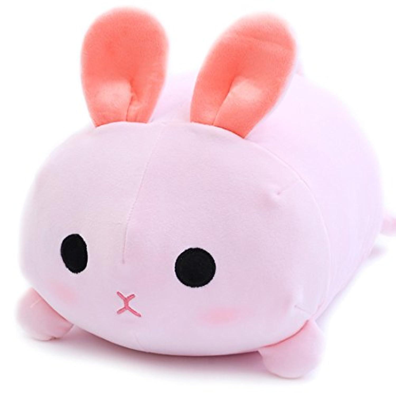 [XINXIKEJI] ぬいぐるみ おもちゃ 可愛い プレゼント 動物 ふわふわ うさぎ 特大 抱き枕 子供 女性 赤ちゃん お誕生日 お祝い 記念日 贈り物 人形ギフト おおきい インテリア ピンク