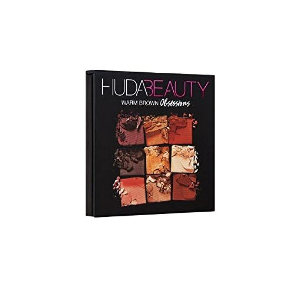 合併症とにかく指標HUDABEAUTY フーダビューティ アイシャドウ OBSESSIONS PALETTE WARM BROWN