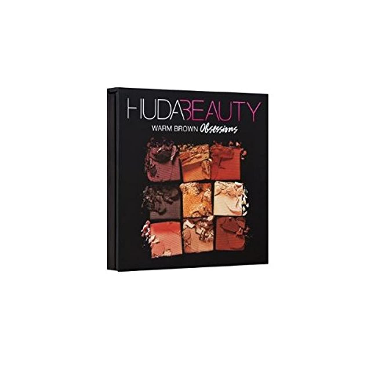 HUDABEAUTY フーダビューティ アイシャドウ OBSESSIONS PALETTE WARM BROWN