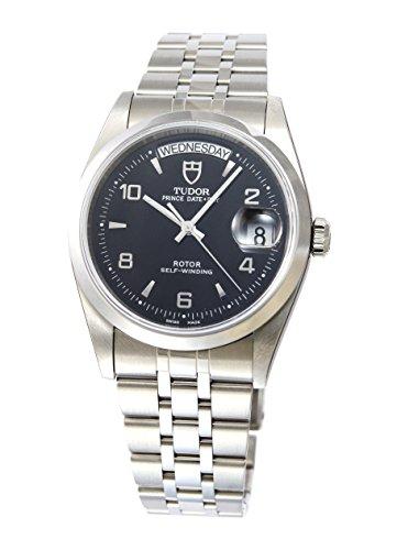 [チュードル]Tudor 腕時計 プリンス デイトデイ ブラックダイヤル アラビアインデックス 自動巻き 76200BK5AR メンズ 【並行輸入品】