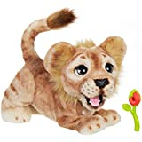 FurReal The Lion King - Mighty Roar Simba Lion Cub - Interactive Plush Pet - 100+ Sounds & Motions - Kids Toys - Ages 4+