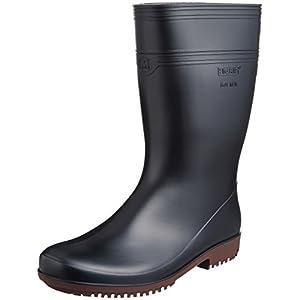 [ミドリ安全]作業長靴 耐滑 耐油 耐薬 ハイグリップ NHG2000 スーパー ブラック26.0(26cm)