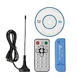 HiLetgo USB2.0 デジタル DVB-T SDR+ DAB+ FM HDTV TVチューナー 受信機 RTL2832U+ R820T2 [並行輸入品]