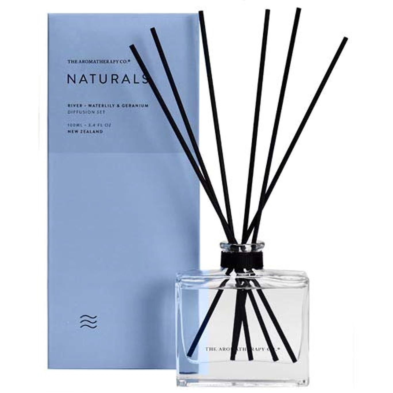 ジム競争寸法アロマセラピーカンパニー(Aromatherapy Company) new NATURALS ナチュラルズ Diffusion Stick ディフュージョンスティック River リバー(川) Waterlily &...
