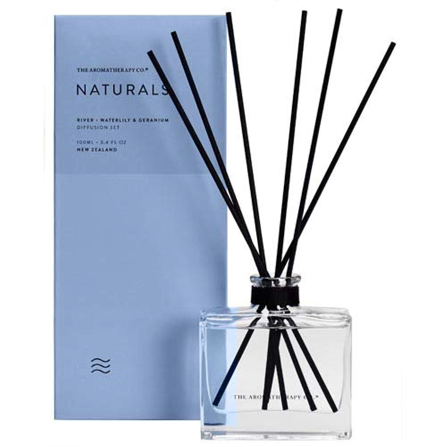 改修ゴミ箱インカ帝国アロマセラピーカンパニー(Aromatherapy Company) new NATURALS ナチュラルズ Diffusion Stick ディフュージョンスティック River リバー(川) Waterlily &...