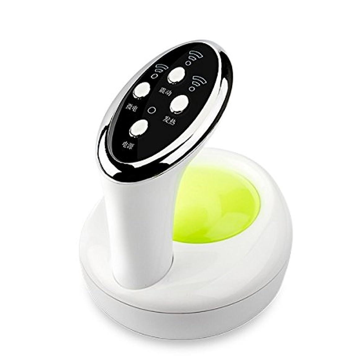 位置する空の虐待ダイエット神器 セルライト ケア ボディ用超音波電動3D美容ヘッド 吸い玉ヘッド 脂肪吸引 ダイエット シェイプアップ シェイプ 自宅 美容神器 正規販売(グリ-ン)