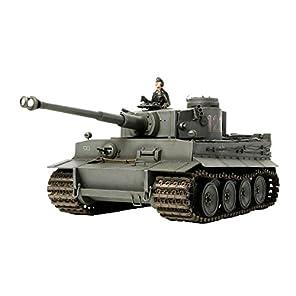 タミヤ 1/25 戦車シリーズ No.11 ドイツ陸軍 重戦車 タイガーI型 ディスプレイキット プラモデル 30611