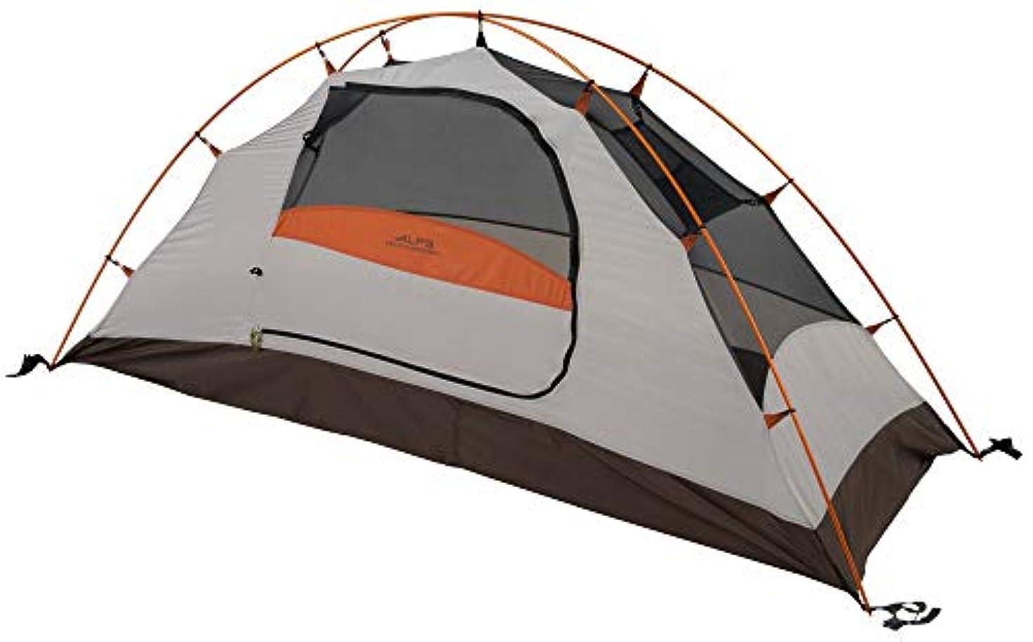 代理店一般大きさALPS Mountaineering Lynx 1-Person Tent, Clay/Rust [並行輸入品]