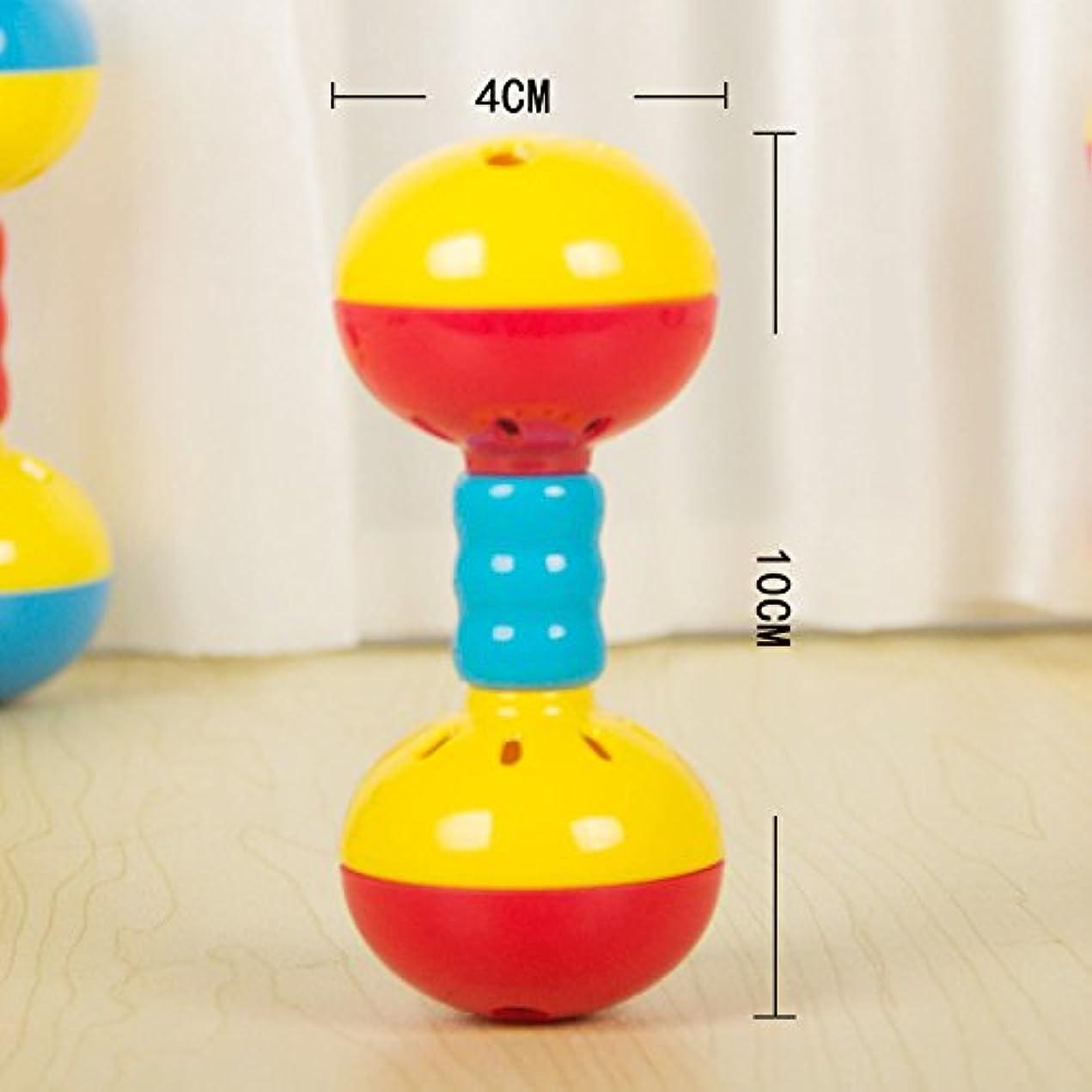 免疫するエジプト人一致するYChoice 可愛い赤ちゃんのおもちゃ ギフト 子供 教育 カラフル 感覚 ベル リング ガラガラ キッズ 面白いおもちゃ ギフト