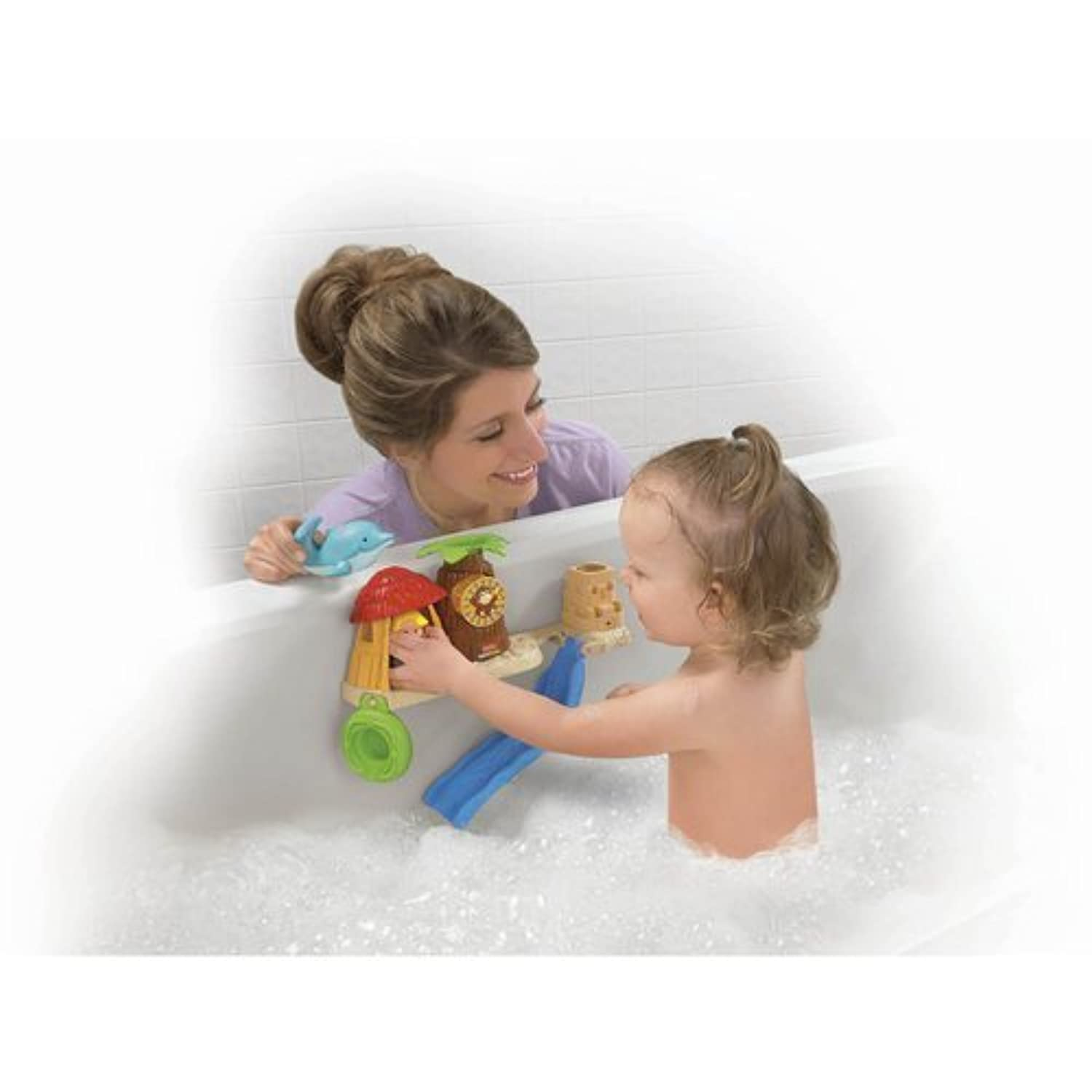 Fisher-Price Little People Splash \'N Scoop Bath by Fisher-Price