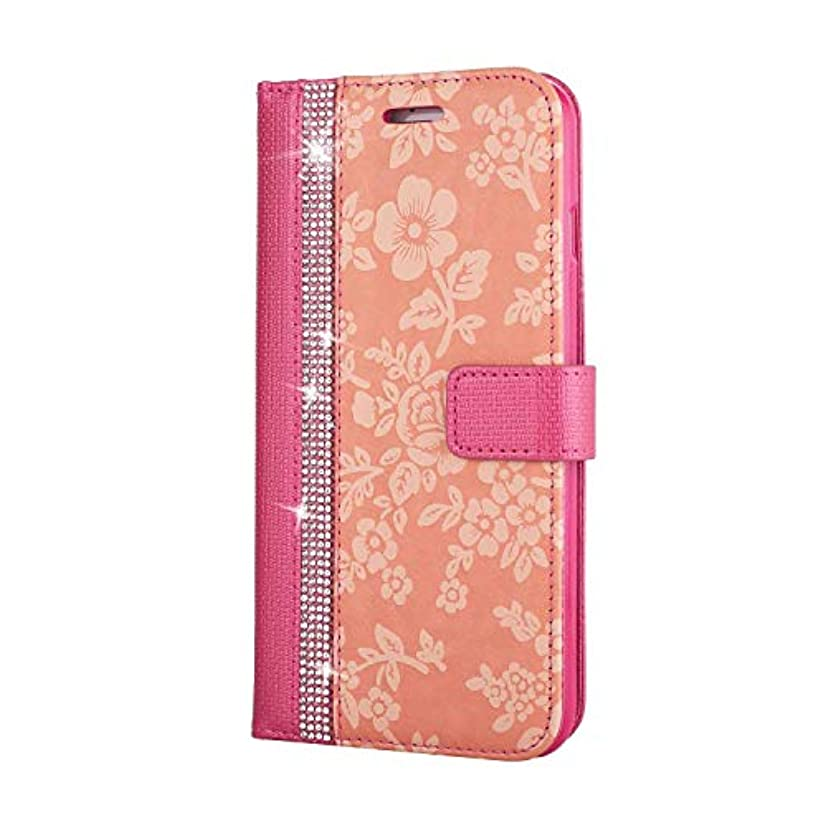 先評価するカップルCUNUS iPhone 7 Plus/iPhone 8 Plus 用 ウォレット ケース, プレミアム PUレザー 全面保護 ケース 耐衝撃 スタンド機能 耐汚れ カード収納 カバー, ローズレッド