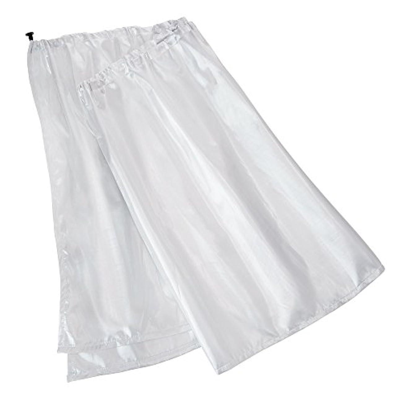 ブレイズ滑る気を散らすかんたん装着 傘カーテン シルバー