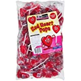 Finetime Finetime Red Heart Pops 100 Pieces, 100 x 1.8 kg