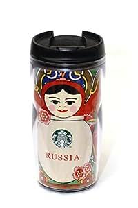 スターバックス(Starbucks) ロシア マトリョーシカ タンブラー 海外限定品 237ml(8oz)