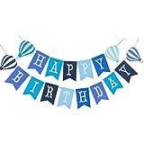 BESTOYARD 誕生日 ガーランド happy birthday ガラーンド 装飾 バースデー 飾り付け 吊り飾り デコレーション