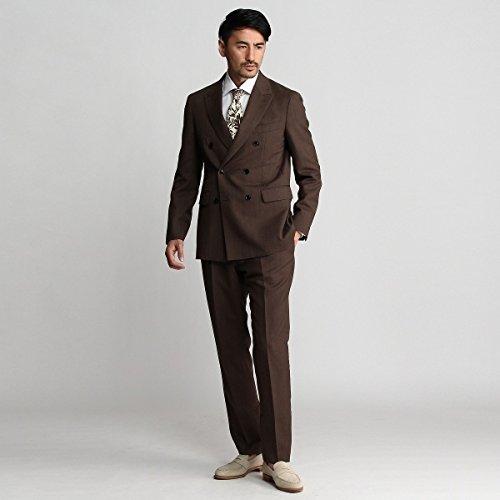 タケオキクチ(TAKEO KIKUCHI) 【PNJ】砂子紋柄ダブルスーツ[メンズ スーツ]