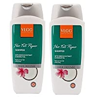VLCC Natural Sciences Hibiscus & Coconut Oil Hair Fall Repair Shampoo (200ml) Pack Of 2 (Ship from India)