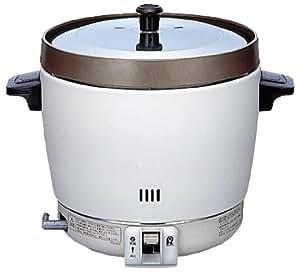 リンナイ 業務用ガス炊飯器(プロパンガス用) 【普及タイプ】 ゴム管接続/直径9.5mm 2升用 RR-20SF2-LP