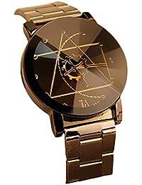 2色 ステンレス製 腕時計 メンズ 羅針盤の指針 おしゃれ 男の子 ウォッチ 時計 日常生活防水 ビジネスギフト、休暇、誕生日、旅行、記念日などの贈り物に適用(黒色+白色)