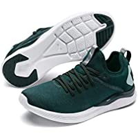 PUMA Women's Ignite Flash Evoknit SR WN's Sneaker, Ponderosa Pine-fair Aqua