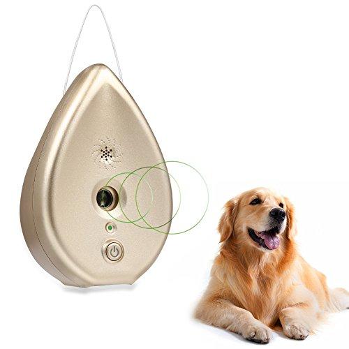 Petacc 犬無駄吠え防止 ムダ吠えしつけ むだ吠え 超音波式 音感センサー自動感知 安眠妨害解決