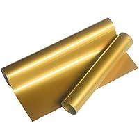 VINYL FROG 熱転写ラバーシート アイロンプリントシート ゴールド(金) 155cm×25cm