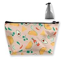 収納ポーチ カラフルなフルーツ柄 化粧ポーチ トラベルポーチ 小物入れ 小財布 防水 大容量 旅行 おしゃれ