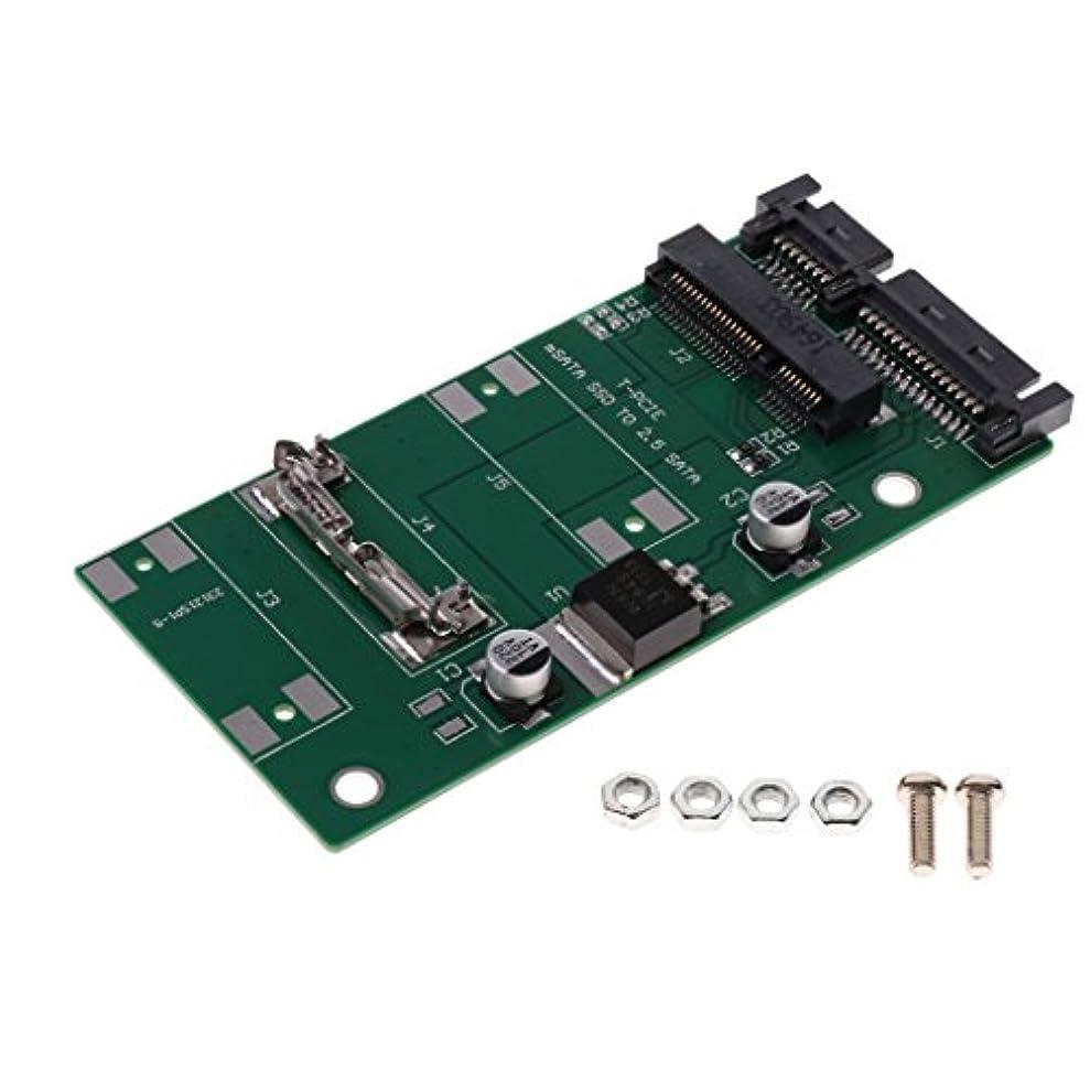 ホステス十分に肉屋Fenteer mSATA 2.5インチ シリアル ミニ PCI SSD SATA インターフェイス PCライザーカード