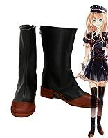 Touken Ranbu Online Game Midare Toushirouコスプレ靴ブーツカスタムMade