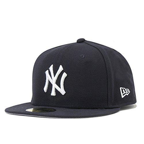ニューエラ キャップ 59FIFTY GORE-TEX ニューヨーク・ヤンキース ネイビー×スノーホワイト 11434033 57.7cm