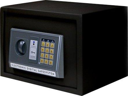 ottostyle.jp エレクトロニックテンキー金庫 電子金庫 18.5L 幅35cm×奥行き25cm×高さ25cm ブラック