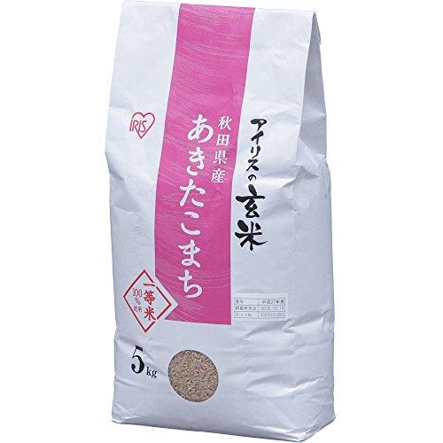 アイリスフーズ アイリスの玄米 秋田県産あきたこまち 5kg