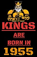 Kings Are Born in 1955: Lined Notebook / Journal Gift, 120 Pages, 6x9, Soft Cover, Matte Finish