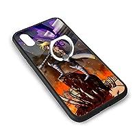 りんごの殻七つの大罪 アップルX/XSガラス電話ケース+角かっこバックシェルアップルIPhone X/XS保護振動ユニセックス
