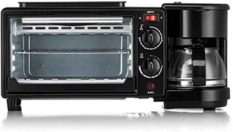 タービン勝利降臨家庭用多機能ホームオフィス寮のためのフライパンやオーブン、600ミリリットルコーヒーポット、9 Lオーブンで1コーヒーマシン朝食マシン、3、1050 W nyfcc