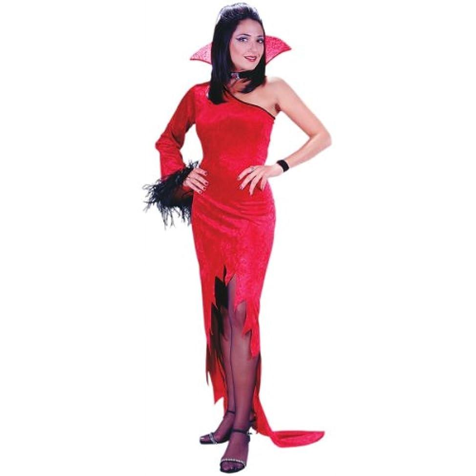 さわやか道値Crimson Countess Devil大人サイズコスチューム