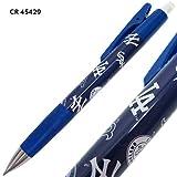 ニューヨークヤンキース[シャープペン]フレフレ機能付きシャープペンシル/MLB 野球【45429(ブルー) 】