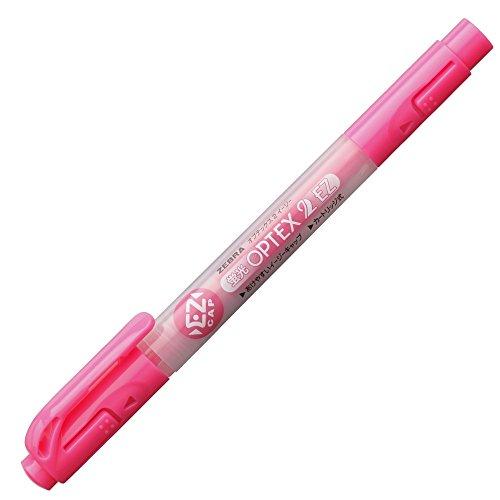 ゼブラ 蛍光ペン 蛍光オプテックス2 EZ WKT11-P ピンク