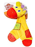 Bright Starts Snuggle & Teethe Giraffe Teether [並行輸入品]