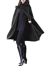 【プラセル】 レディース メンズ ポンチョ コート ジャケット マント ヤッケ ケープ