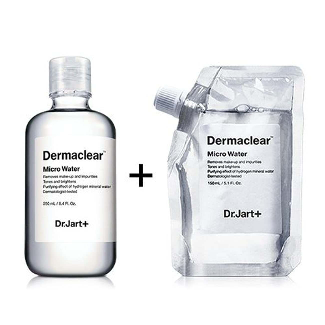 細菌セーブエレクトロニックドクタージャルト[韓国コスメ Dr.Jart+]ダーマクリア マイクロ ウォーター250ml+150ml(リフィル) [Dr.Jart+]Dermaclear Micro Water (250ml+150ml)