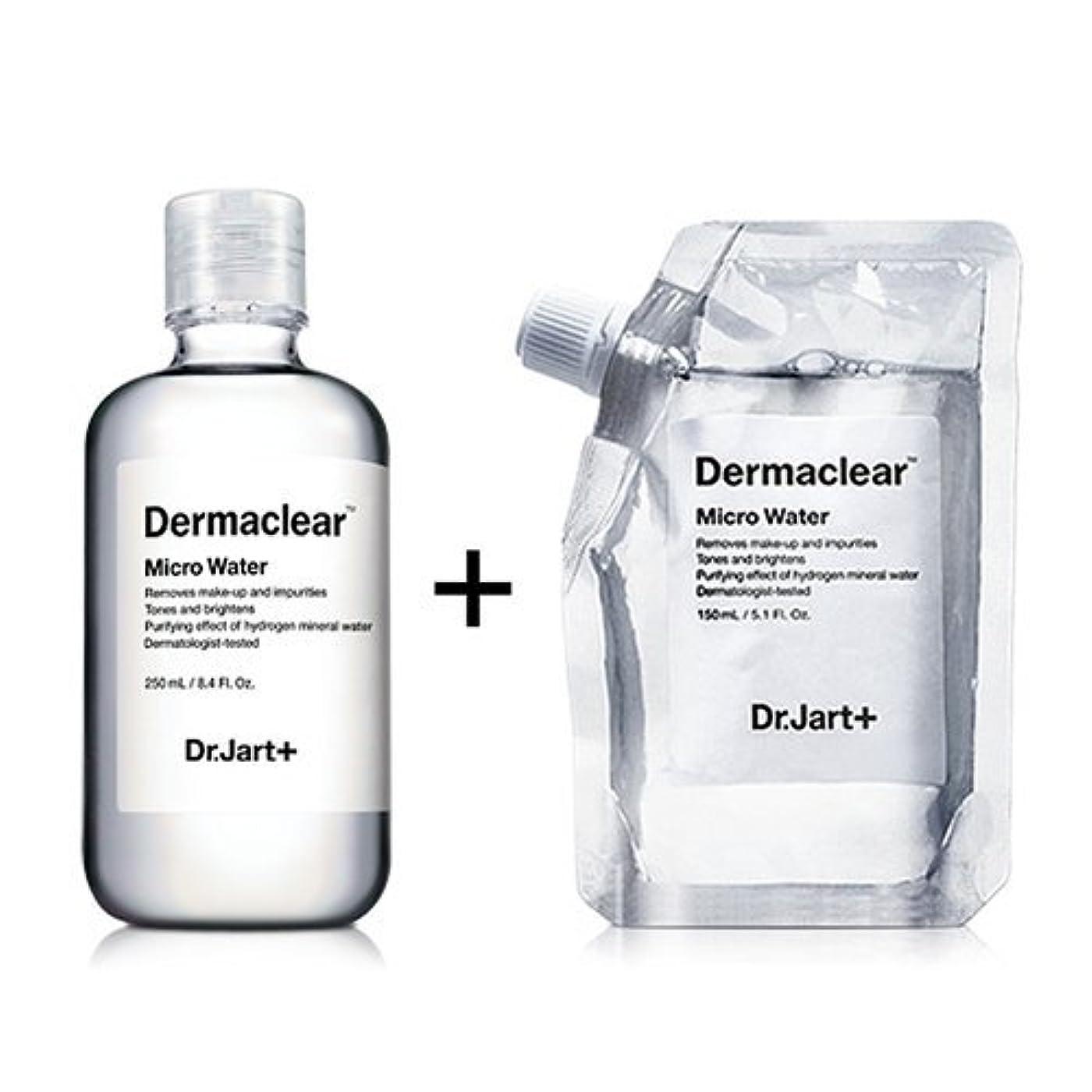 帝国主義ラインナップ誤ってドクタージャルト[韓国コスメ Dr.Jart+]ダーマクリア マイクロ ウォーター250ml+150ml(リフィル) [Dr.Jart+]Dermaclear Micro Water (250ml+150ml)