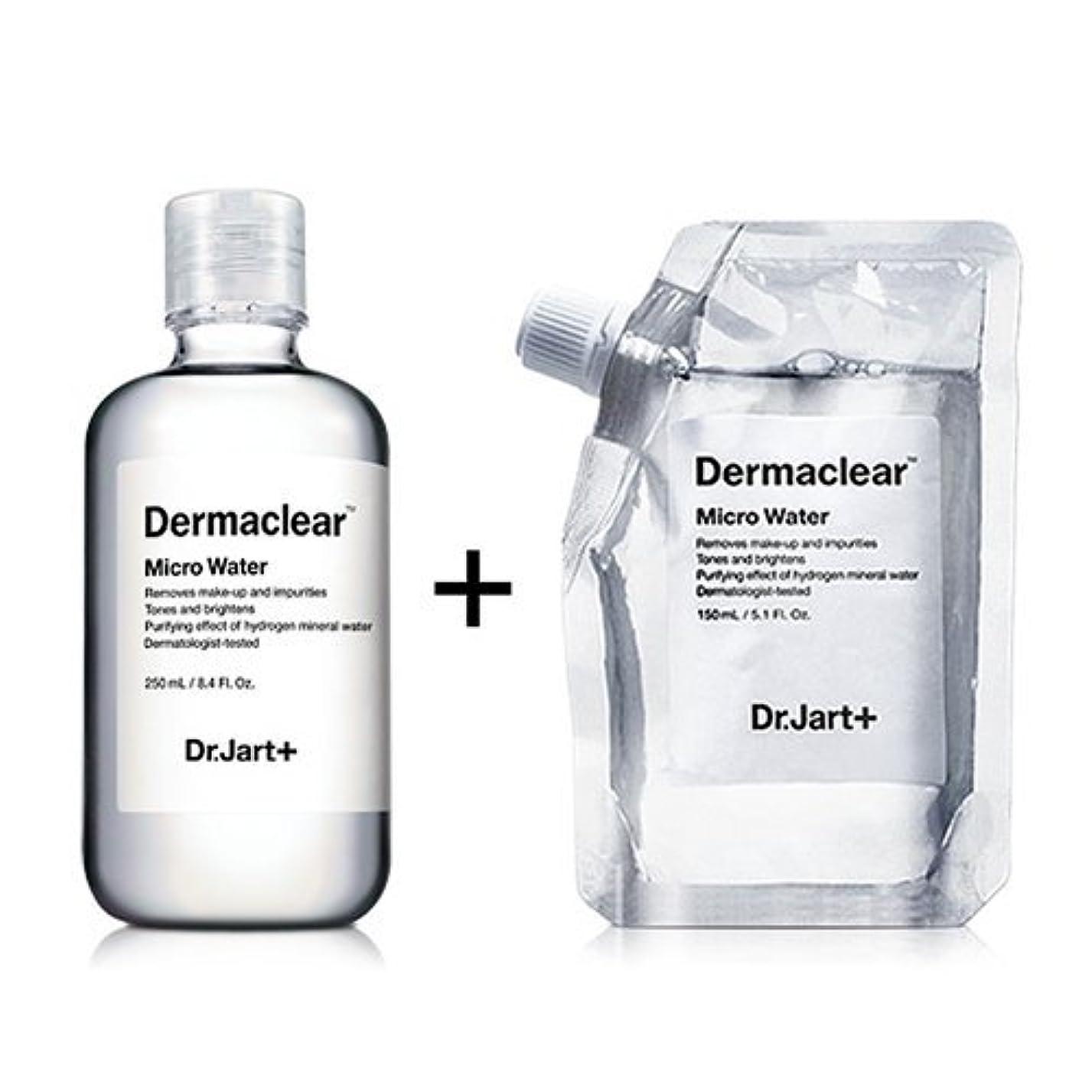 盆腸ドールドクタージャルト[韓国コスメ Dr.Jart+]ダーマクリア マイクロ ウォーター250ml+150ml(リフィル) [Dr.Jart+]Dermaclear Micro Water (250ml+150ml)