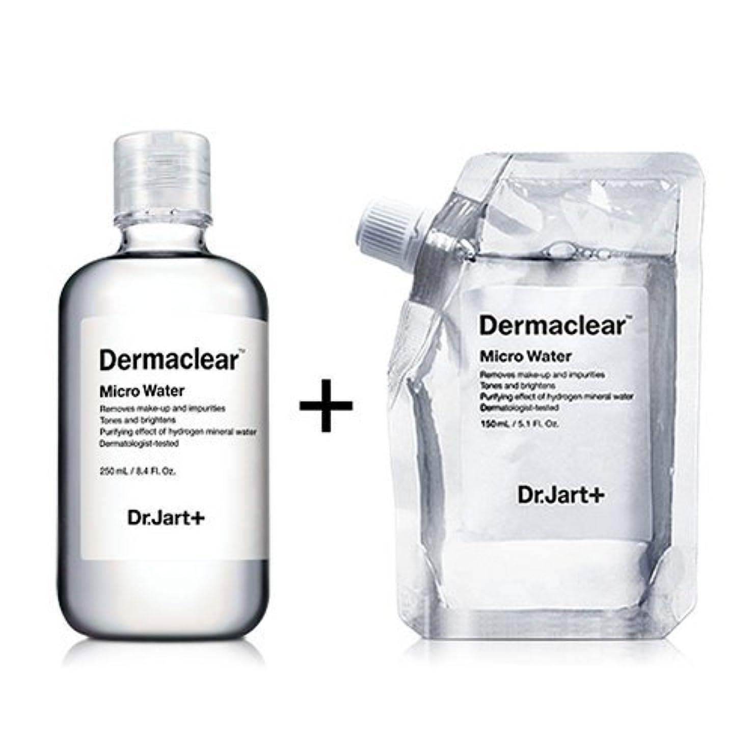 オープナー排泄物従順なドクタージャルト[韓国コスメ Dr.Jart+]ダーマクリア マイクロ ウォーター250ml+150ml(リフィル) [Dr.Jart+]Dermaclear Micro Water (250ml+150ml)