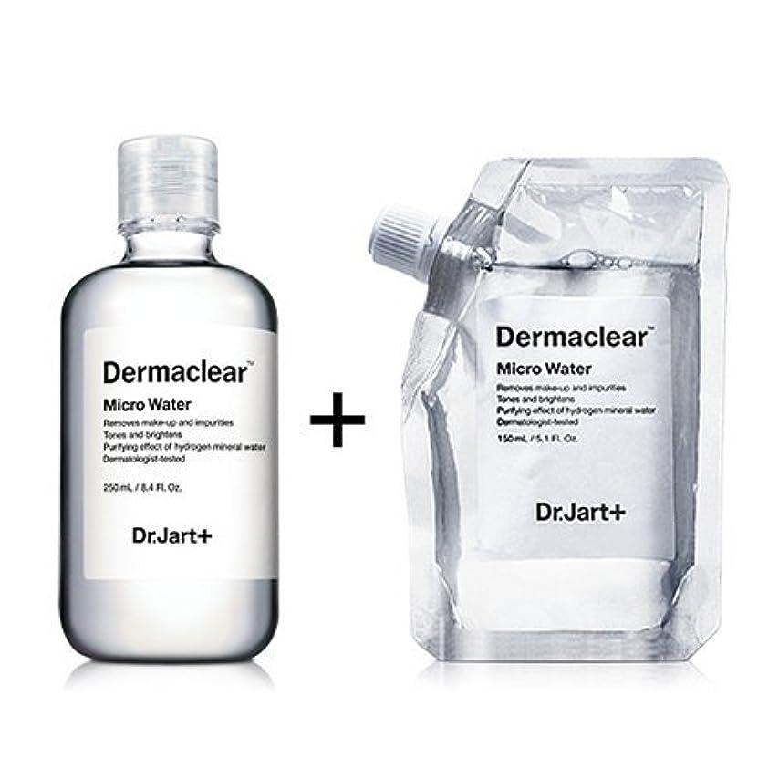 ドクタージャルト[韓国コスメ Dr.Jart+]ダーマクリア マイクロ ウォーター250ml+150ml(リフィル) [Dr.Jart+]Dermaclear Micro Water (250ml+150ml)