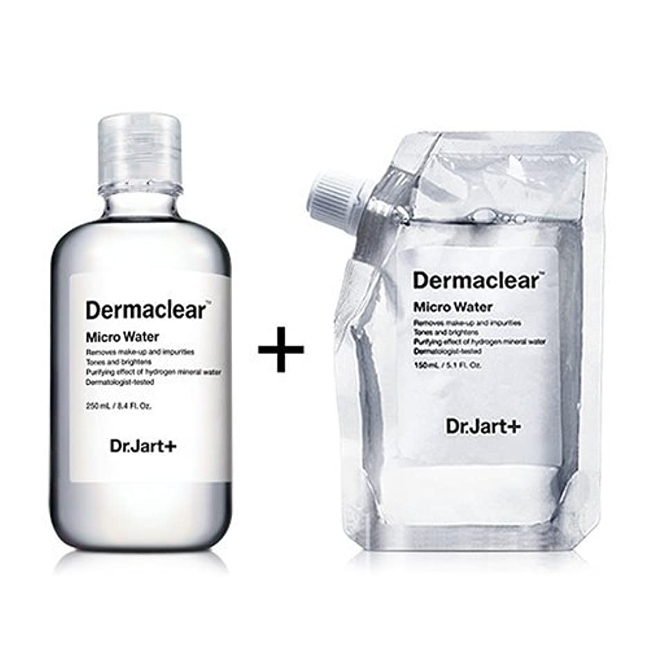 ナサニエル区速い憂慮すべきドクタージャルト[韓国コスメ Dr.Jart+]ダーマクリア マイクロ ウォーター250ml+150ml(リフィル) [Dr.Jart+]Dermaclear Micro Water (250ml+150ml)