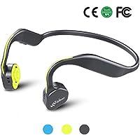 骨伝導ヘッドホン Vidonn F1 Titanium Bluetoothスポーツ用ヘッドホン (Yellow)