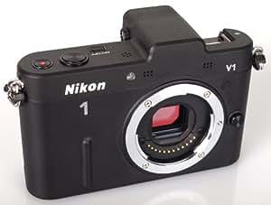 Nikon ミラーレス一眼カメラ Nikon 1 (ニコンワン) V1 (ブイワン) ボディ ブラック N1 V1 BK
