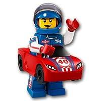 【開封済未使用品】 LEGO レゴ ミニフィギュアシリーズ18 レースカーマン 【71021-13】